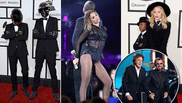 Sexy, cool & legendär: Das waren die Grammys 2014 (Bild: AP)