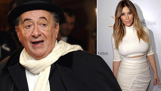 Wackelt Opernball-Besuch von Kim Kardashian? (Bild: APA/ROBERT JAEGER, AP, krone.at-Grafik)