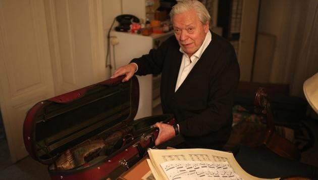 Wien: 16 wertvolle Musikinstrumente gestohlen (Bild: Gerhard Bartel)