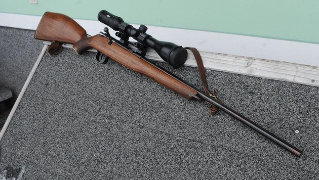 38-jähriger Steirer schoss mit Gewehr um sich (Bild: APA/SIEGFRIED ULLRICH)