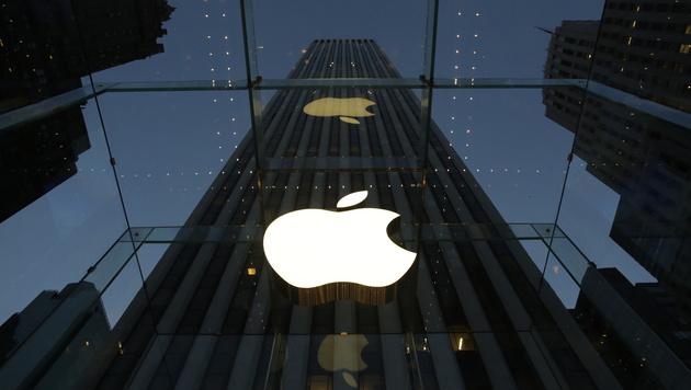 Apple verlor binnen Minuten 40 Mrd. Börsenwert (Bild: AP)