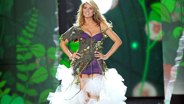 Heidi Klum hatte schon wieder nichts zum Anziehen! (Bild: EPA)