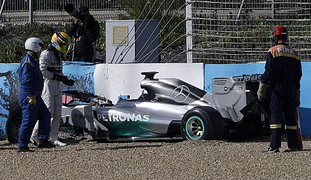 Pleiten, Pech und Pannen beim ersten Formel-1-Test (Bild: APA/EPA/ROMAN RIOS)