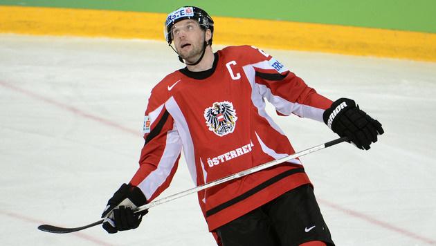 Vanek führt ÖEHV-Team als Kapitän aufs Olympia-Eis (Bild: APA/HELMUT FOHRINGER)