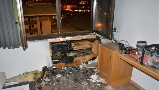 Brand in Hotel: 65 Gäste in Sicherheit gebracht (Bild: FF Saalbach-Hinterglemm)