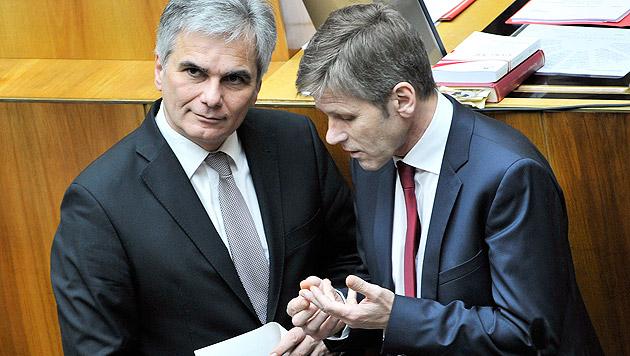 Nationalrat fixierte Gehaltsplus für Beamte (Bild: APA/Hans Punz)