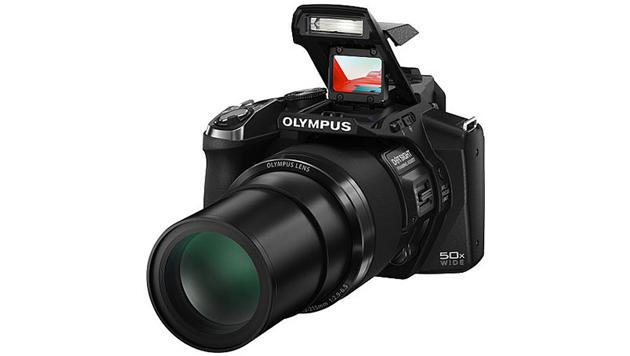 "50x-Superzoom-Kamera kommt mit ""Fadenkreuz"" (Bild: Olympus)"