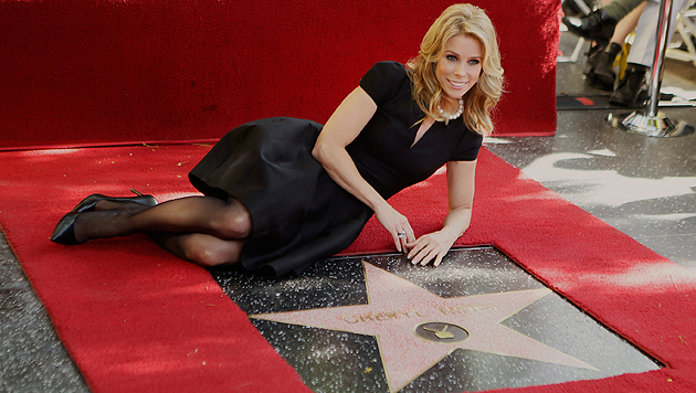 Erster Hollywood-Stern des Jahres 2014 enthüllt (Bild: AP)