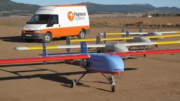 Erstmals Zulassung für Drohne in Europa erteilt (Bild: Flightech Systems)
