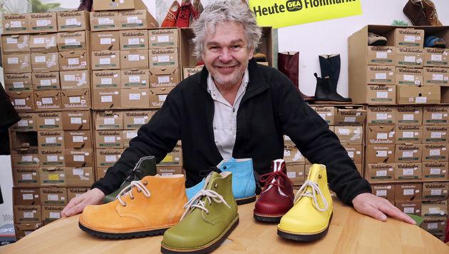 """Schuhhersteller Staudinger: """"Ein blödes Spiel"""" (Bild: Klemens Groh)"""