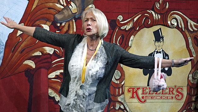 """Helen Mirren mit """"Pudding""""-Theaterpreis gefeiert (Bild: AP)"""