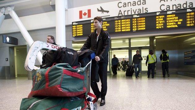 Kanadas Geheimdienst spionierte Flugpassagiere aus (Bild: EPA)
