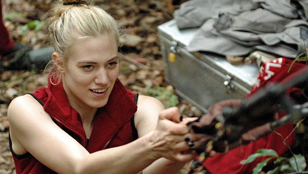 Larissa schafft den Einzug ins Dschungel-Finale (Bild: RTL/Stefan Menne)