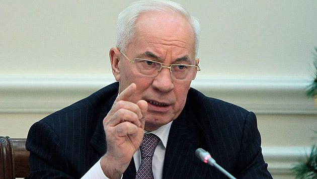 Der ukrainische Ex-Premier Nikolai Asarow (Bild: AP)