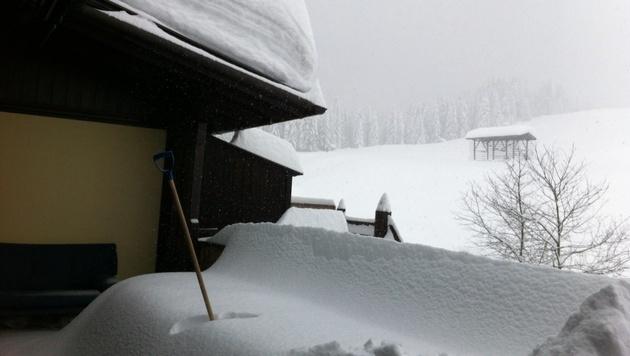Winterchaos im Süden fordert mehrere Todesopfer (Bild: Scoopshot/Angelika Komposch)
