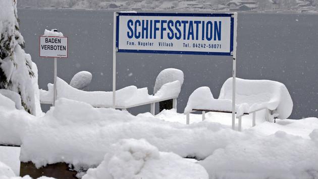 Winterchaos im Süden fordert mehrere Todesopfer (Bild: APA/GERT EGGENBERGER)
