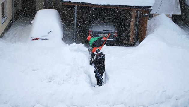 Winterchaos im Süden fordert mehrere Todesopfer (Bild: APA/GEMEINDE KARTITSCH/HANDOUT)