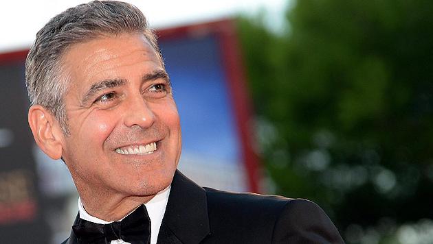Heiratet George Clooney, verliert er 96.000 Euro (Bild: EPA)