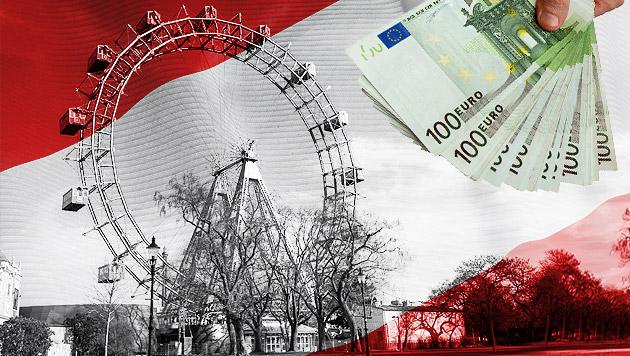Österreich als Drehscheibe für Finanzjongleure (Bild: thinkstockphotos.de, krone.at-Grafik)