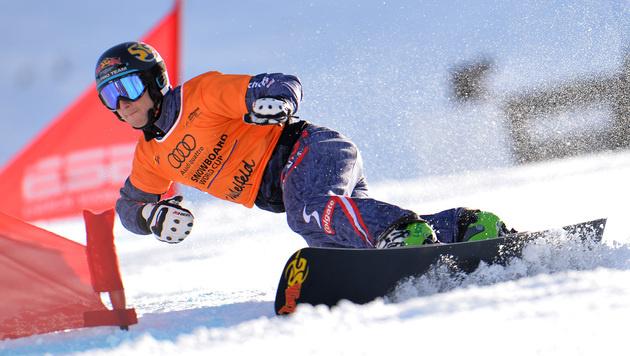 Snowboarder Mathies gewinnt Parallel-Weltcup (Bild: AP)