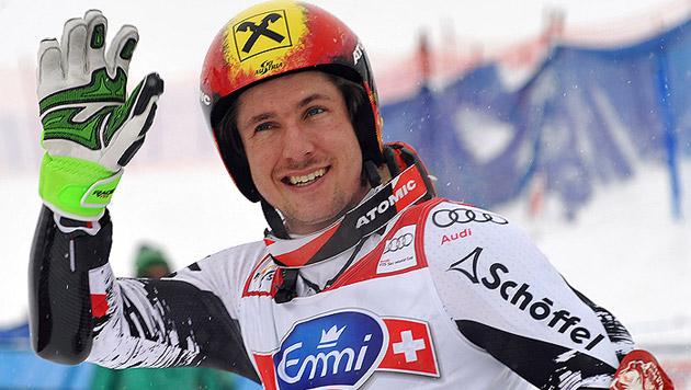Hirscher holt Platz 2 hinter überragendem Ligety (Bild: AP)