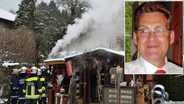 NÖ: Pfarrer verhindert mit Löscheinsatz Großbrand (Bild: Lisson, Einsatzdoku.at)