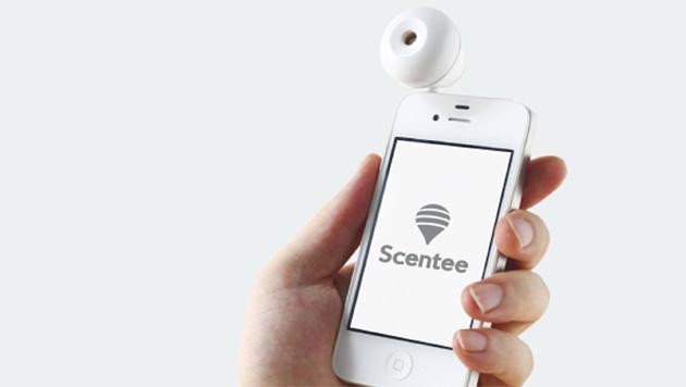 """Scentee"" macht das Smartphone zum Duftzerstäuber (Bild: scentee.com)"