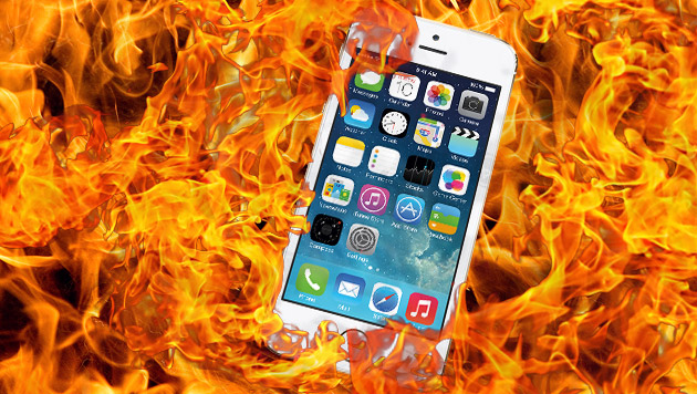 iPhone-Explosion: Schülerin erleidet Verbrennungen (Bild: Apple, thinkstockphotos.de, krone.at-Grafik)