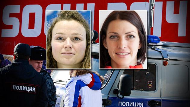 Entführungs-Drohung gegen unsere Olympia-Stars (Bild: AP, APA/HERBERT NEUBAUER, APA/ÖSV)
