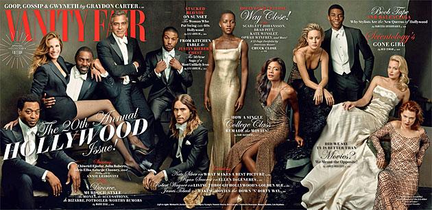 "Hollywoods erste Riege auf ""Vanity Fair""-Cover (Bild: Vanity Fair)"