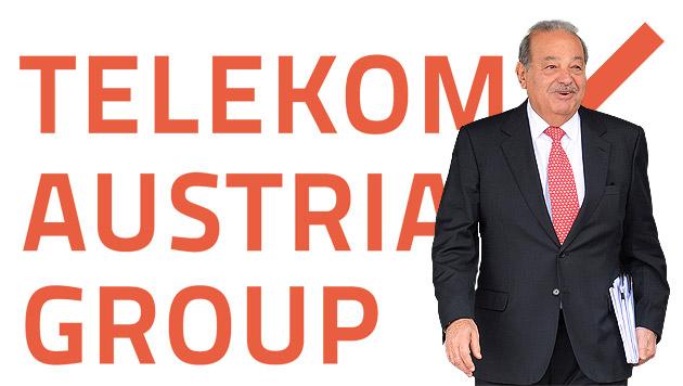 Mexikaner Slim hält nun 51 Prozent an Telekom (Bild: AFP, krone.at-Grafik)