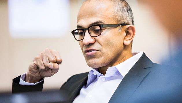 Microsoft-Boss Nadella trifft chinesische Behörden (Bild: Microsoft)
