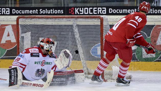 ÖEHV-Team verliert Olympia-Test gegen Dänemark (Bild: APA/Herbert Neubauer)
