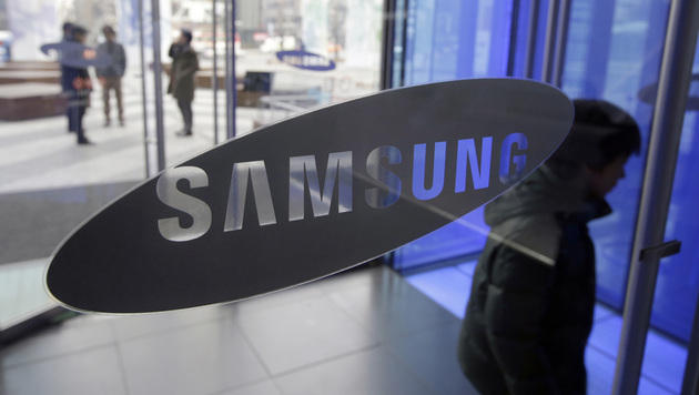 Samsung meldet Gewinnrückgang um fast 60 Prozent (Bild: AP)