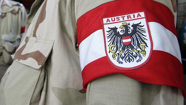 Bundesheer-Offizier als OSZE-Beobachter in Ukraine (Bild: Dennis M. Sabangan/EPA/picturedesk.com)