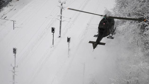 """Einsätze gegen Stromausfälle """"unter Lebensgefahr"""" (Bild: APA/BUNDESHEER/KRONHOFER)"""