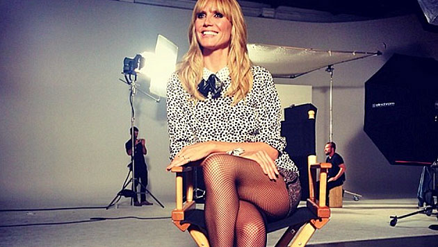 Heidi Klum Händchen haltend mit Vito in Cannes (Bild: instagram.com)