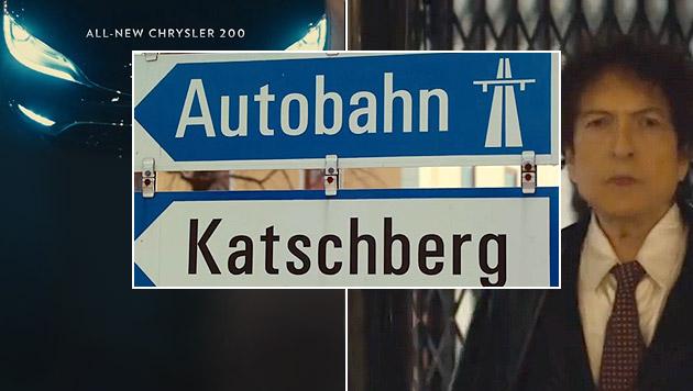 Wie es der Katschberg zum Super Bowl schaffte (Bild: YouTube.com, krone.at-Grafik)