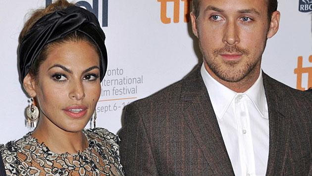 Eva Mendes dementiert Trennung von Ryan Gosling (Bild: WARREN TODA/EPA /picturedesk.com)