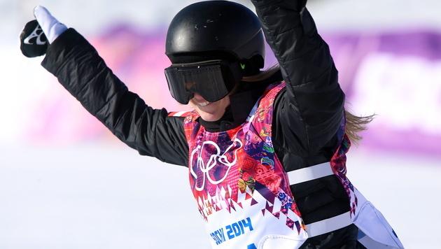 Snowboarderin Gasser geht am Sonntag auf Gold los (Bild: APA/EPA/JENS BUETTNER)