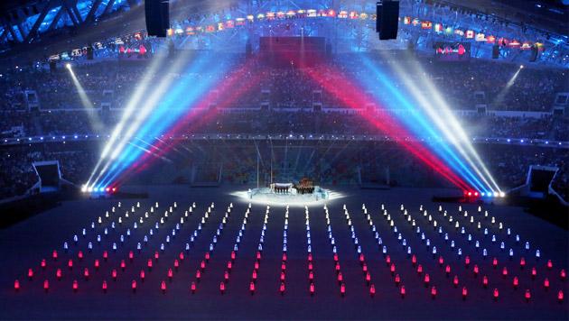 Olympische Spiele in Sotschi feierlich eröffnet (Bild: APA/EPA/TATYANA ZENKOVICH)