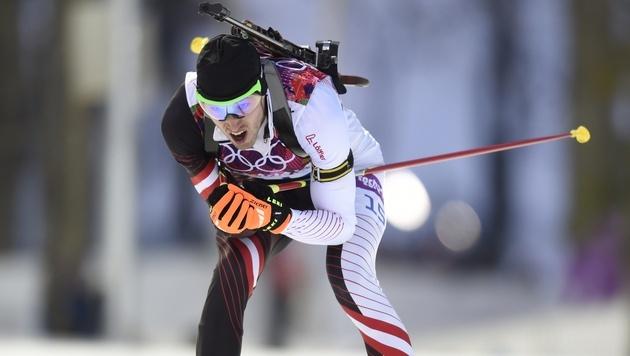 Biathlet Landertinger holt Silber für Österreich (Bild: AFP)