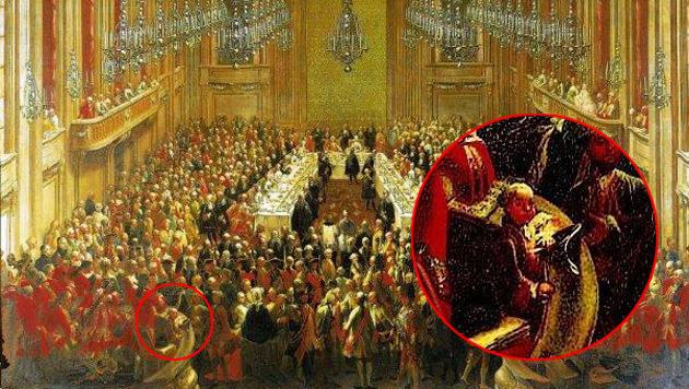 Junger Mozart auf Gemälde in Schönbrunn entdeckt (Bild: Schloss Schönbrunn Betriebsgesellschaft)