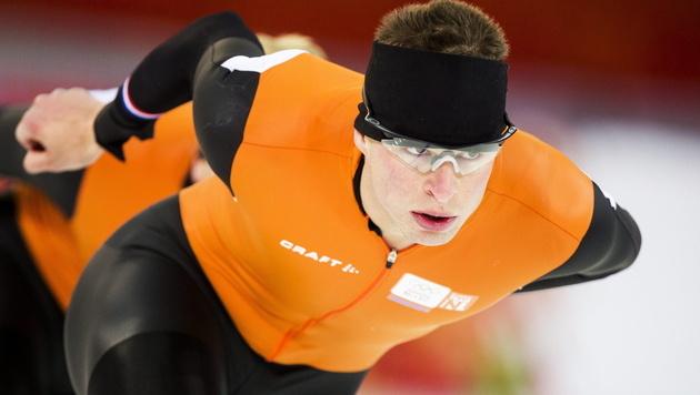 Topfavorit Kramer holt Gold über 5.000 Meter (Bild: APA/EPA/VINCENT JANNINK)