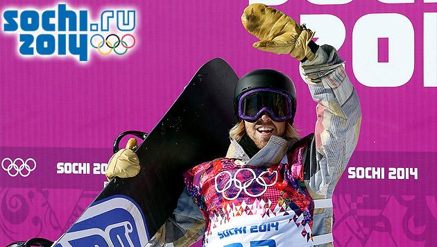 US-Boy Kotsenburg erster Olympiasieger von Sotschi (Bild: APA/EPA/JENS BUETTNER)
