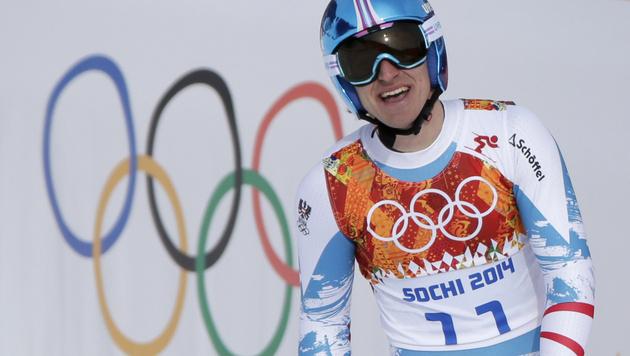 Matthias Mayer: Mit erstem Sieg zu Olympia-Gold (Bild: AP)