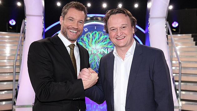 """""""Promi-Millionenshow"""": Vorbereitung auf krone.at (Bild: ORF)"""