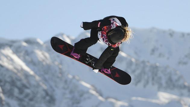 Snowboarderin Gasser verpasst Medaille (Bild: APA/HELMUT FOHRINGER)