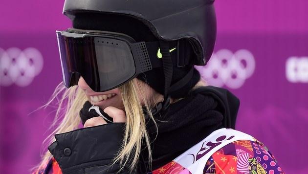Snowboarderin Gasser verpasst Medaille (Bild: AFP)