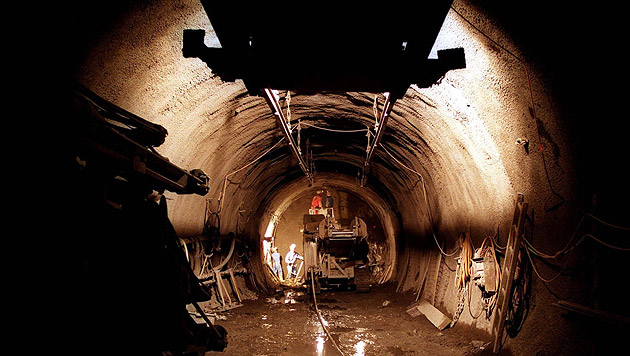 Endlich grünes Licht für Semmering-Basistunnel (Bild: APA/Robert Jaeger)